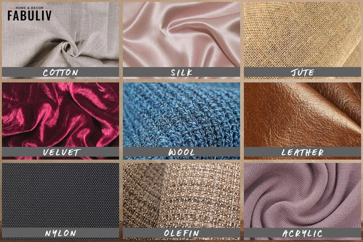 materials for soft furnishings