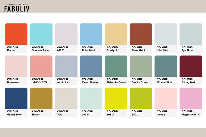 color palettes for soft furnishings