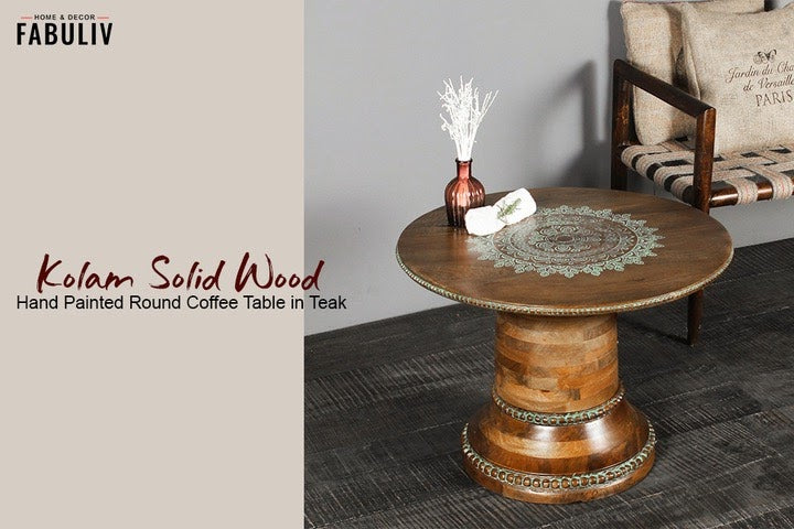 solid wood coffee table center table