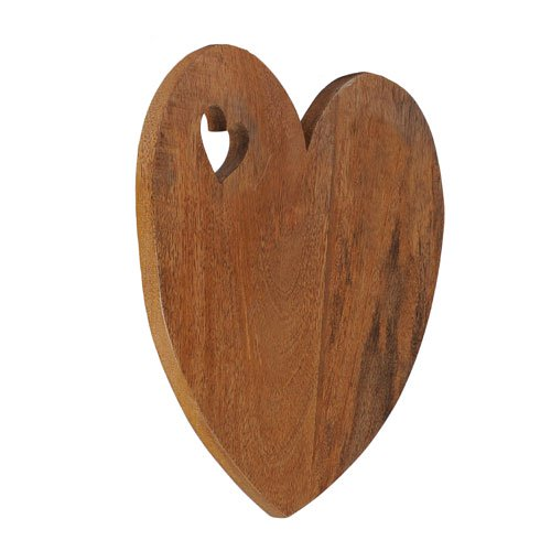 Valentine Mango Wood Serving Plank Set of 2 5