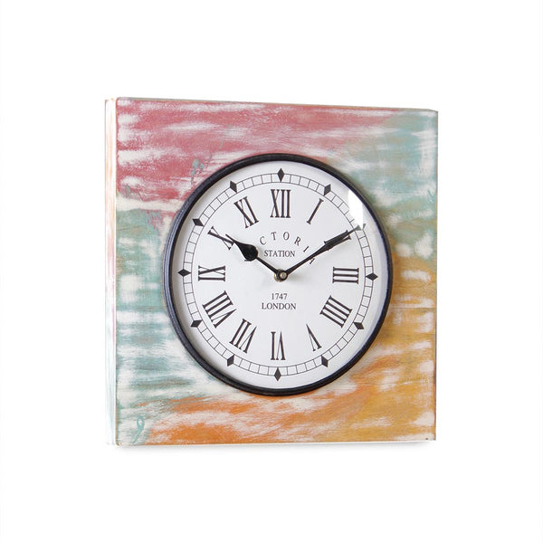 Camrose Wooden 11 Square Wall Clock a