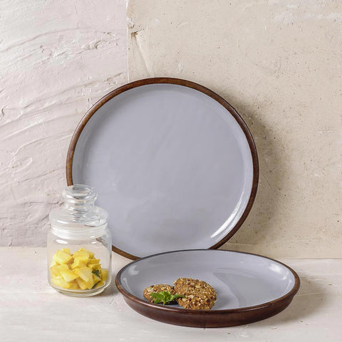 ELEPHANT GREY WOODEN SERVING PLATES online