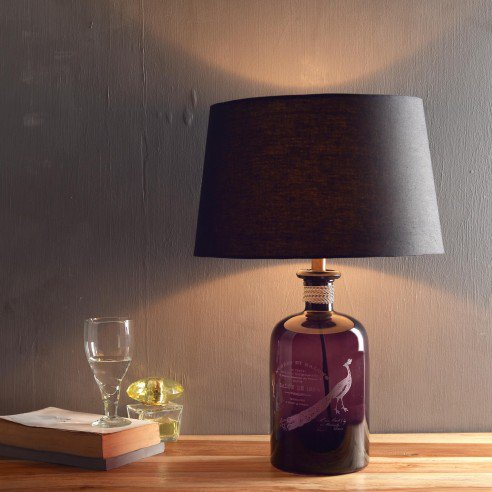 Buy Barry Purple Table Lamp Online in India