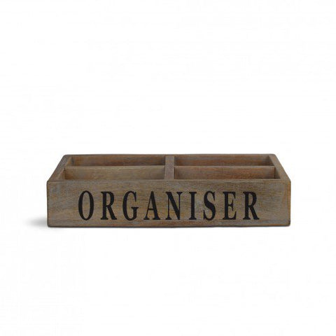 Lohan White distress Organiser