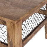 BAROQUE NATURAL MESH COFFEE TABLE online