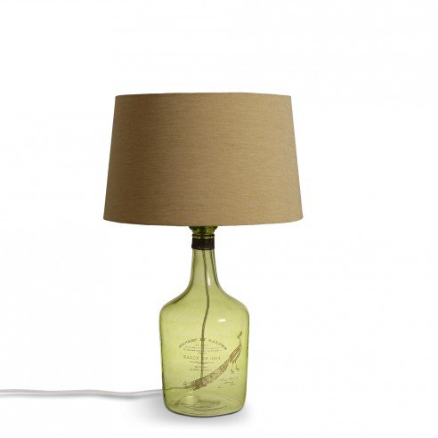 Alvin large Green Table Lamp 2