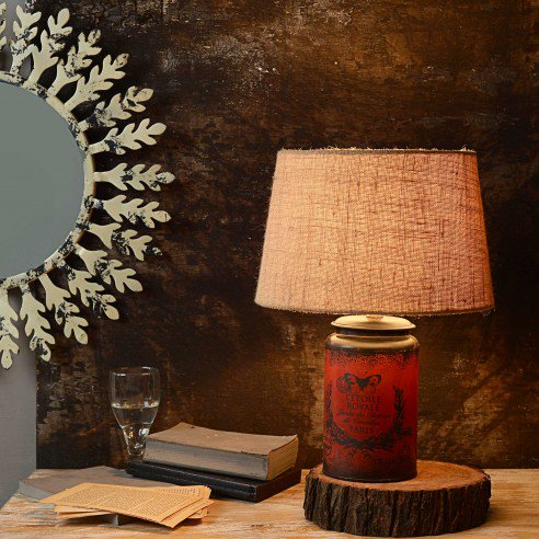 Cocoon Red Vintage table lamp 2