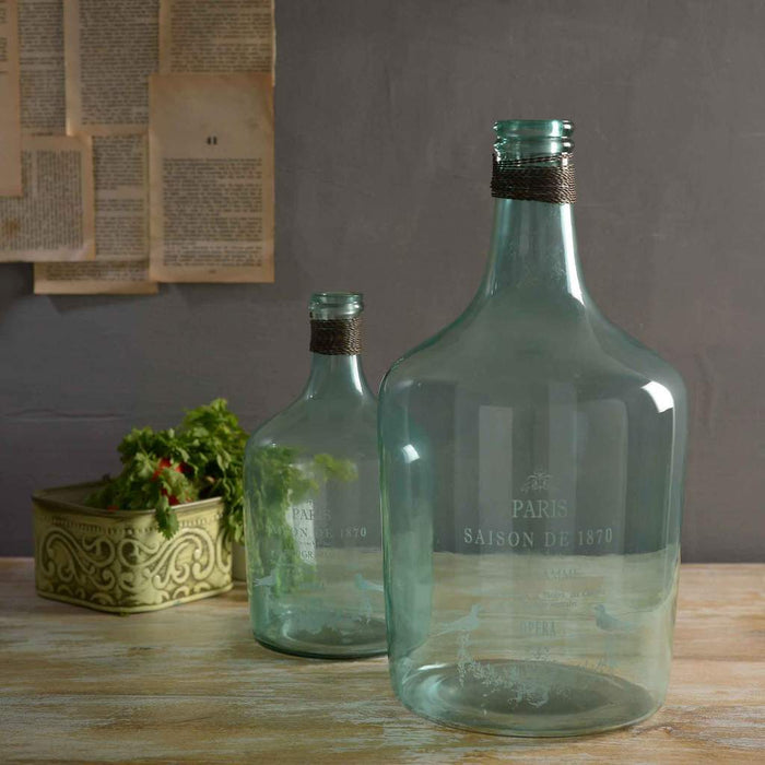 Alvin Large Aqua Vase in 2 sizes