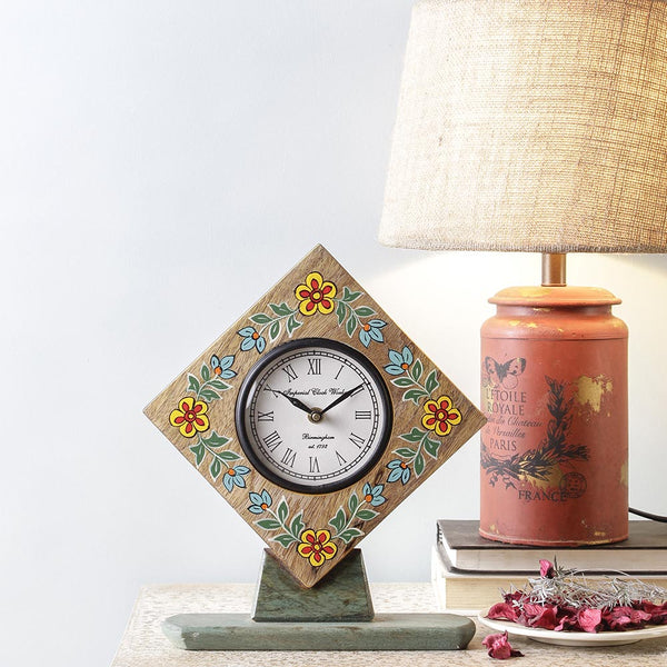 Camillo 11 Handpainted Table Clock