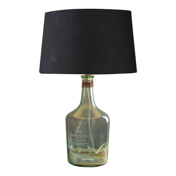 Alvin Large Aqua Table Lamp