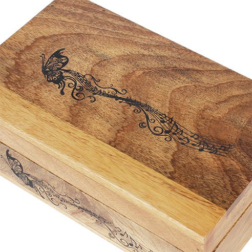 Rustic Wooden Box with 6 compartments india