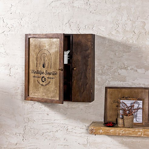 Elba Vintage Wall Mounted Cabinet