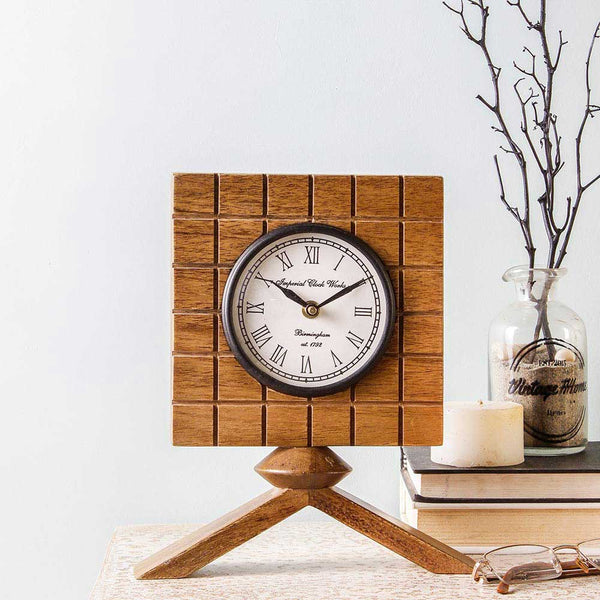 Dorothy 9 Square Table Clock