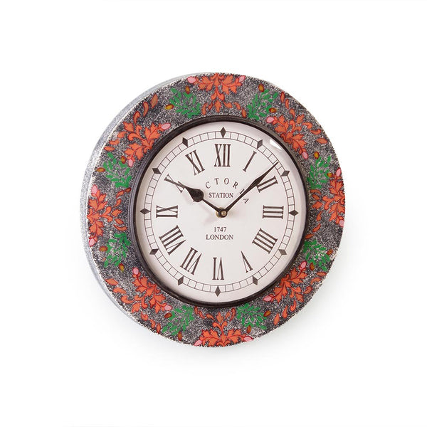 Everdene Multicolour MDF 11 Wall Clock a