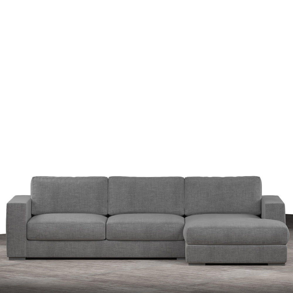 Claire Upholstered Sofa With Chaise Sectional