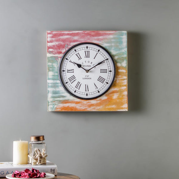 Camrose Wooden 11 Square Wall Clock