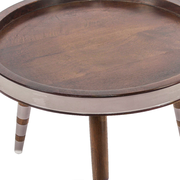 Zach Round Coffee Table in 2 Sizes