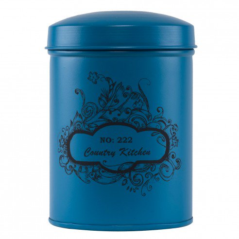 Blue Country Kitchen Storage Boxes1