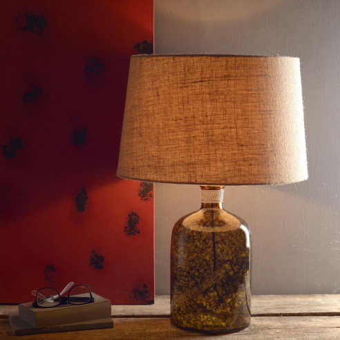 Galvin Amber Table Lamp Online