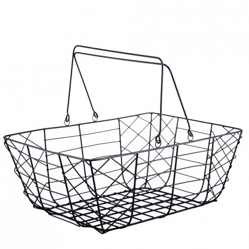 1FABULIV Utility wire Basket Rectangular