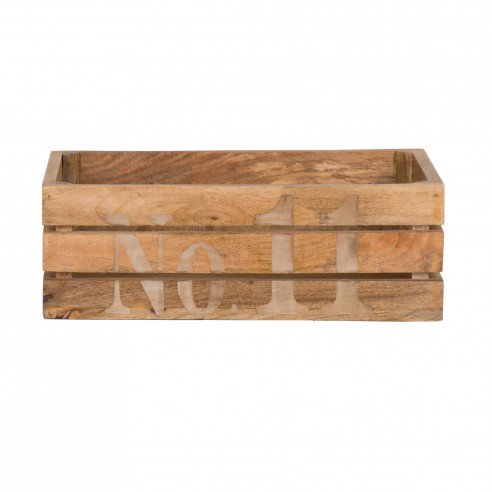 Ewen Light Wooden Crate