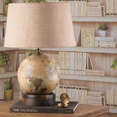Buy Table Lamp with Decorative Globe Base Online in India