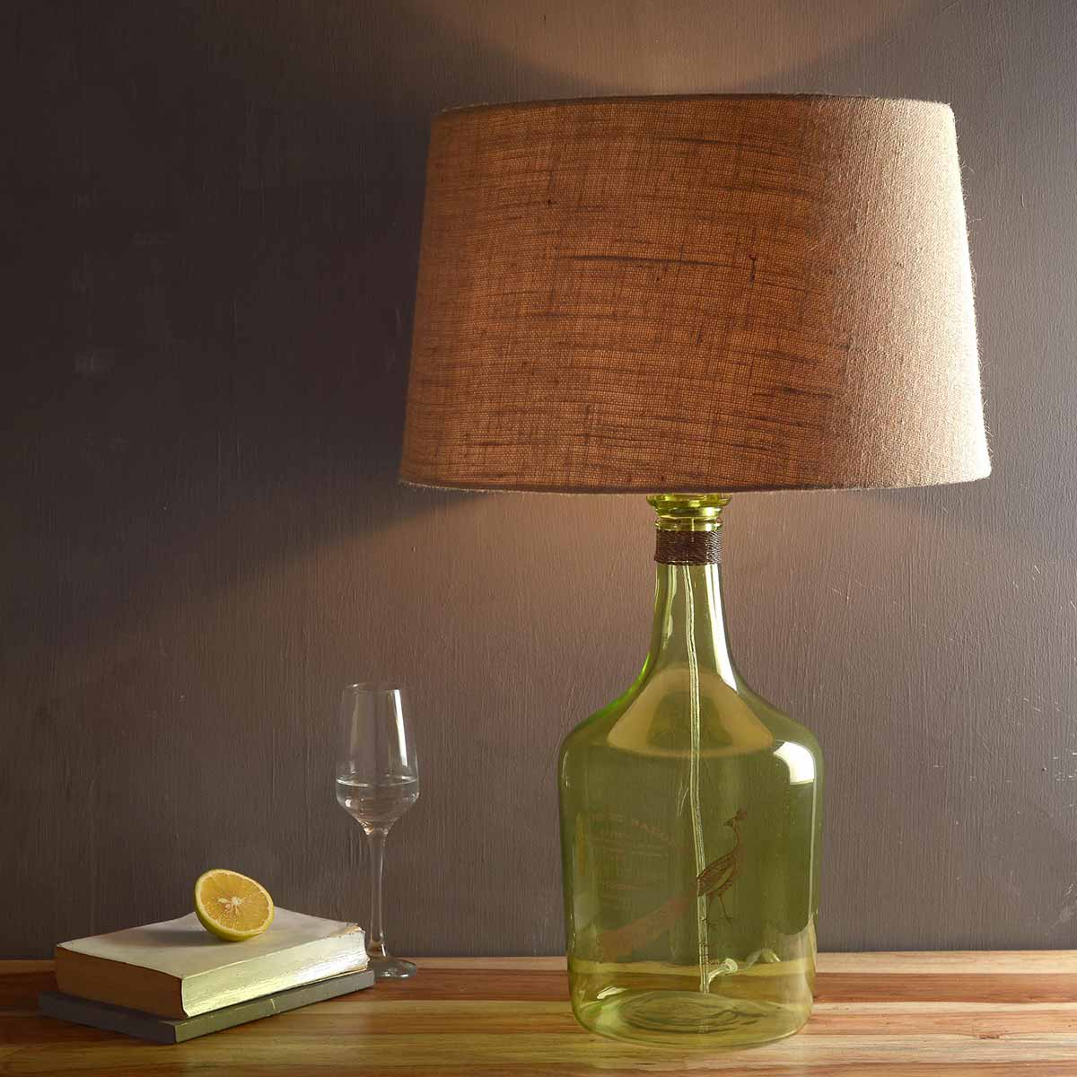Buy Alvin Large Green Table Lamp Online