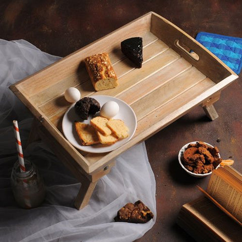 Wooden Brakefast Bed Table 1