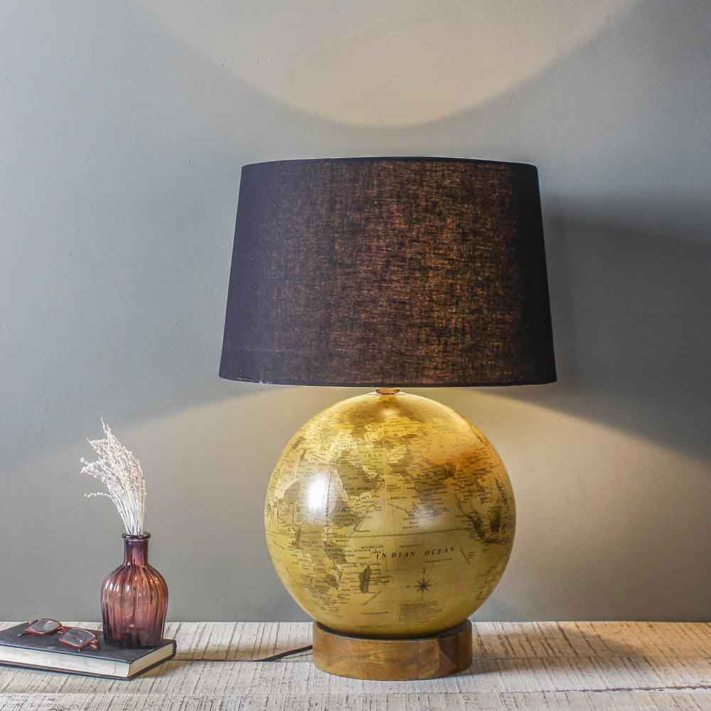 0fde3a46b Vintage Orb Table Lamp Online - Lamps online - Fabuliv
