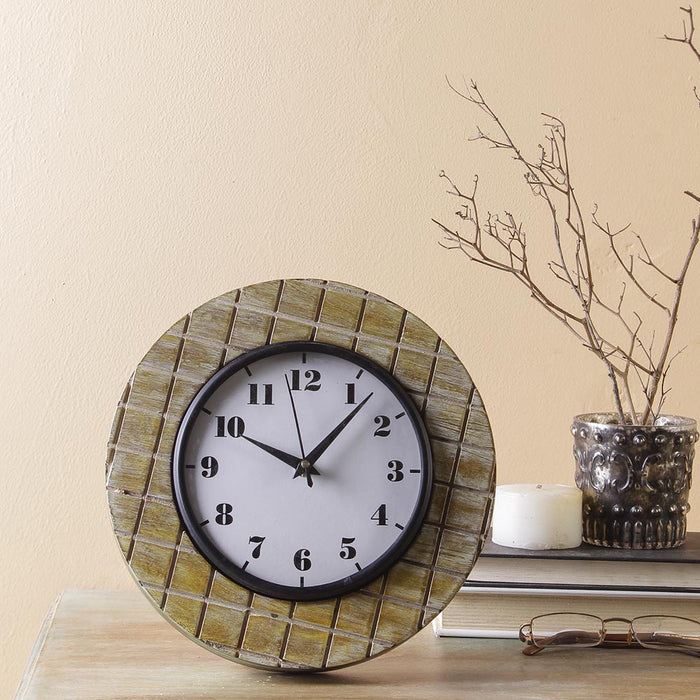 Madras 9 Table Clock