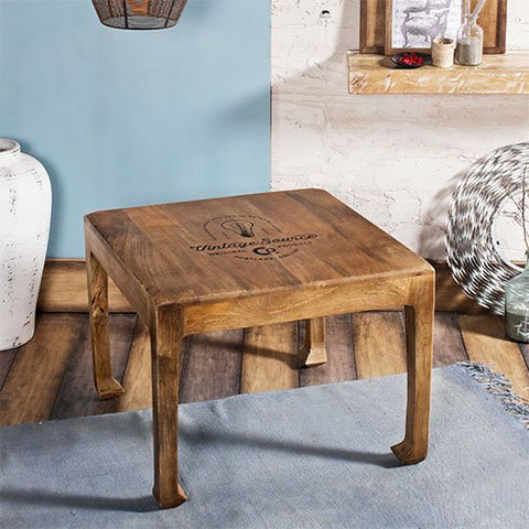 Richard Natural Square End Table