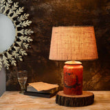 Buy Cocoon Red-Golden table lamp online