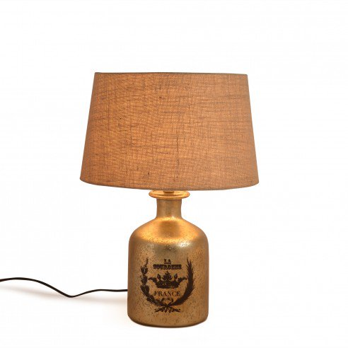 Buy French Vintage Abel Red Table Lamp online
