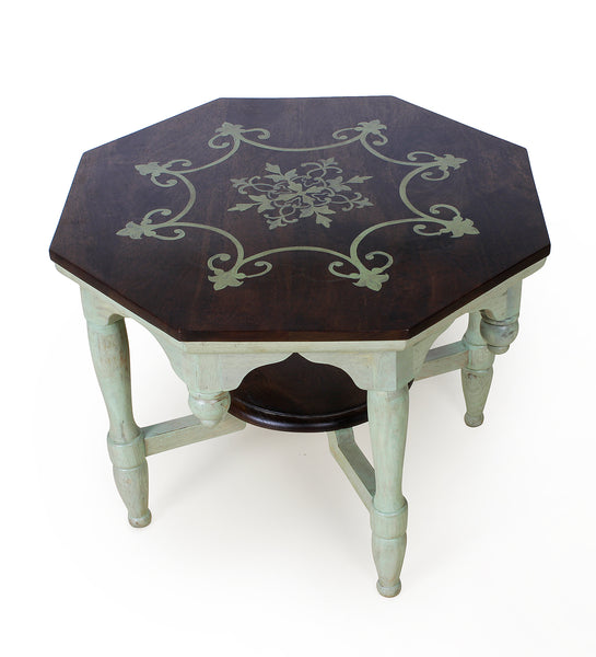 Persian Hand Painted Coffee Table
