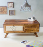 Gracious Wooden Coffee Table in 2 Sizes