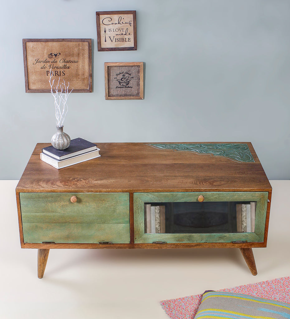 Buy Emilion green Coffee table online