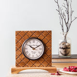 Dorothy 7 Square Table Clock