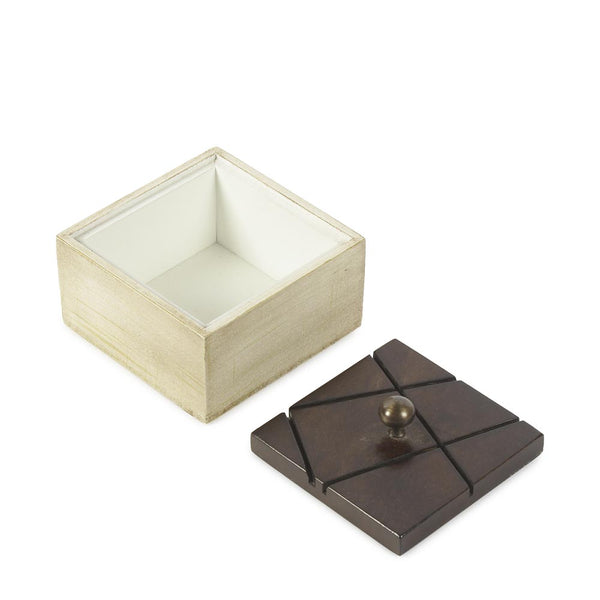 Coffee Square Wooden Box b