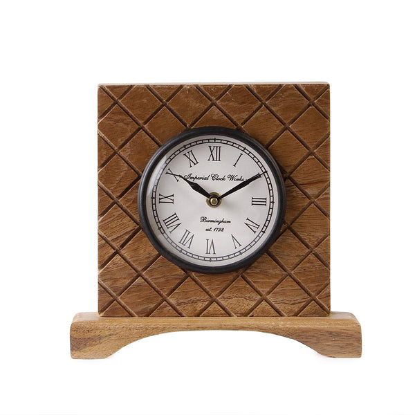 Dorothy 7 Square Table Clock b