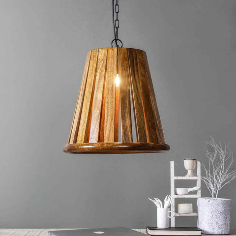 Manhattan wood Pendant Lamp 1