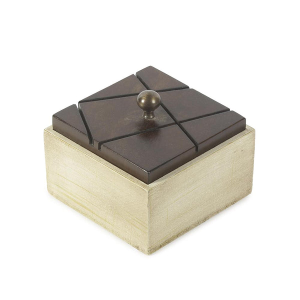 Coffee Square Wooden Box a