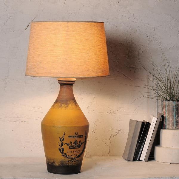 Buy Adolfo Vintage Yellow Table Lamp