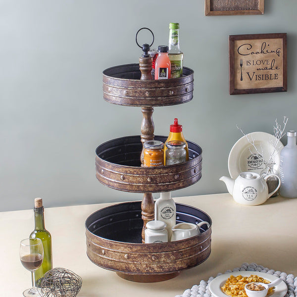 Laisey 3 Tier Kitchen Organiser