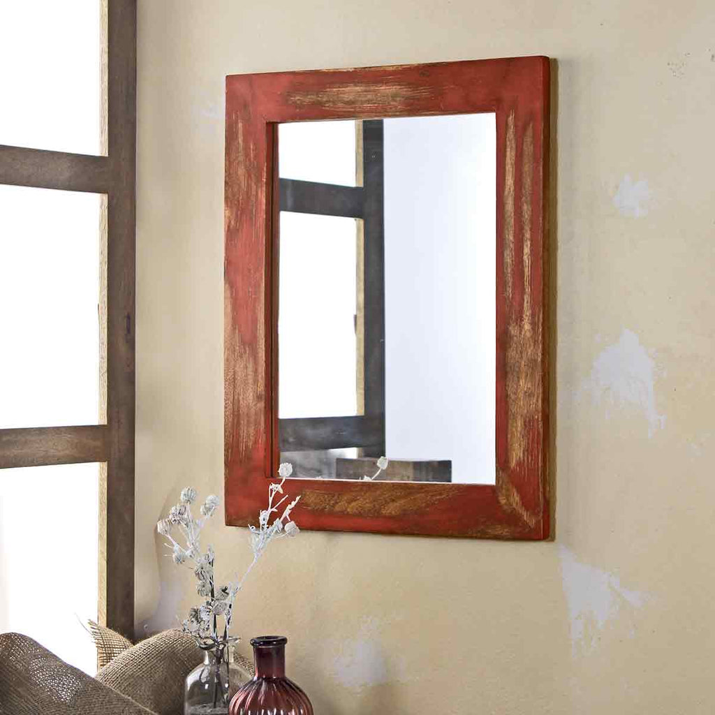 Camrian Distress Red Mirror online