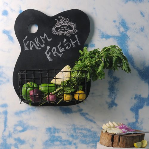 Chalk Board Kitchen Shelf 1
