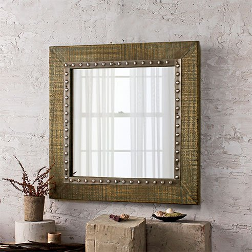 Vintage HandCrafted Bathroom Mirror online