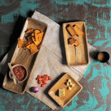 Set of 3 Wooden Serving Trays