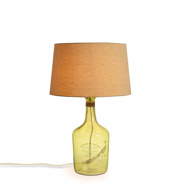 Alvin large Green Table Lamp