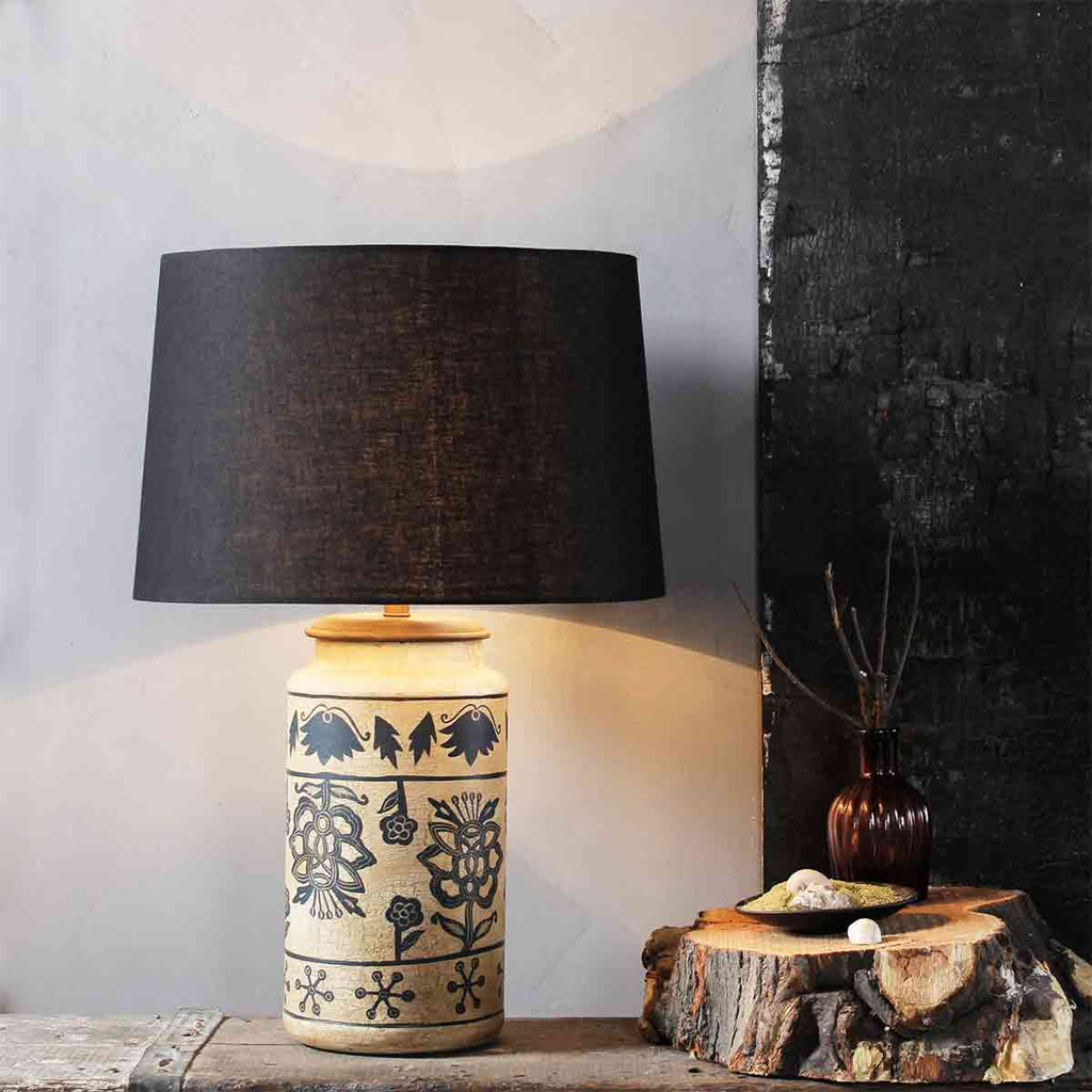 Alana Teal Table Lamp