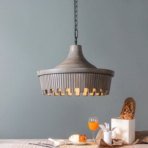 Braxton Grey Pendant Lamp